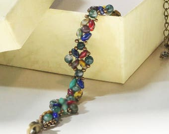 The Everyday Bracelet in Picasso Earth Tone Colors