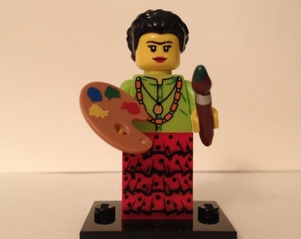 ON SALE Frida Kahlo LEGO Custom Minifigure