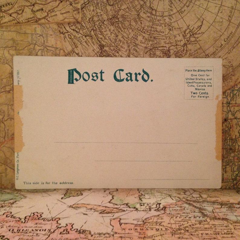 ON SALE Chicago Illinois IL Glitter Details Lake Shore Drive Early 1900/'s Souvenir Postcard