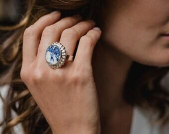 Wedding Ring China Etsy