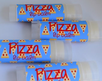 Funny Stocking Stuffers for Kids, Pizza Flavored Lip Balm, Novelty Gag Gifts, Pizza Chapstick, Pizza Lover Gift, Boyfriend Gift, For Him