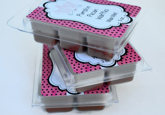Pumpkin Pecan Waffles Wax Melt Scented Tart Melts Wax Warmer Gifts For Her Clamshell Melts Housewarming Gift Fragrance Gift