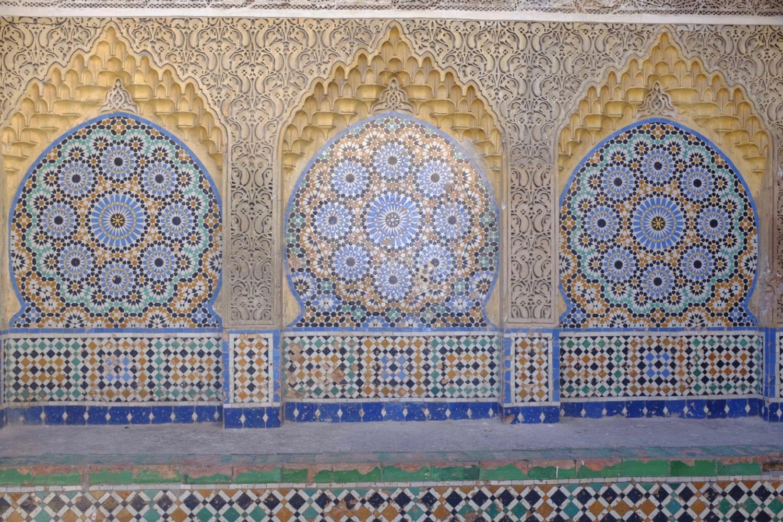 Foto di piastrelle marocchine blu moresco fotografia etsy