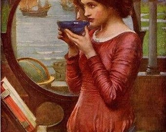 John William Waterhouse-destin vintage fine art print