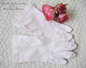 Vintage Style Gloves- Long, Wrist, Evening, Day, Leather, Lace Vintage Gloves Light Pink White Tea 1st Communion Wedding Dance FREE SHIP US Miss Fisher Victoria  Downton Abbey Cosplay  WhenRosesBloom $18.00 AT vintagedancer.com