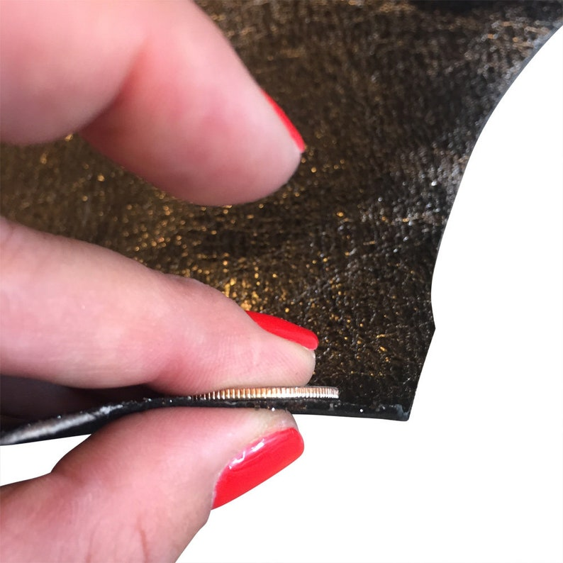 Sewing projects DIY Scrapbooking Material Craft Supplies 844 Metallic Genuine Leather Hides Textured Finished Skins Upholstery Fabric