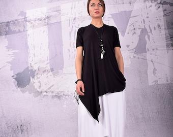 2e770cd4fd56a Black tunic top