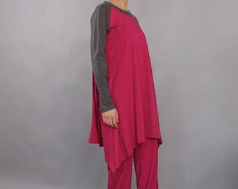 Pajamas, Sleepwear, Loungewear, Casual wear, Sleep set, pijama, top and pants, Woman Pajamas, Cotton Pajamas, UrbanMood, UM-PJ03-CO