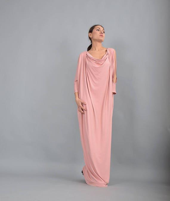 Plus UrbanMood Maxi Maxi Dress Caftan Dress Dress Dress Maxi Pink Size Jersey Kaftan Maxi UM225VL Maxi Boho Dress Dress Summer Dress x40aHqA