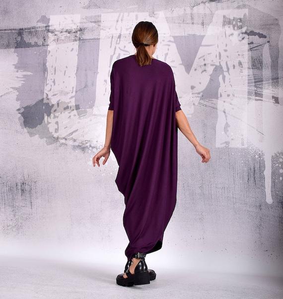 Dress Loose dress dress Party VL Dress Dress 192 Evening UM Casual dress Purple Cocktail Asymmetric Women Dress UrbanMood Dress Maxi CRwWxqB5