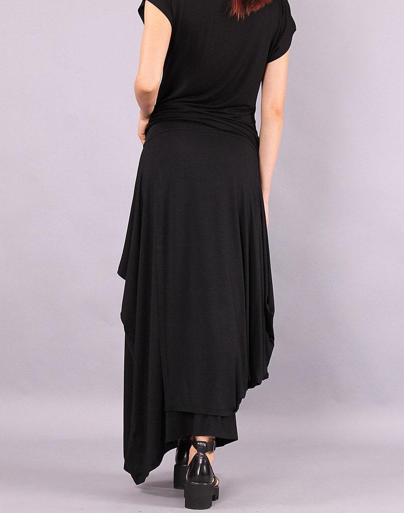 Maxi Skirt long skirt Black skirt Floor length skirt image 0
