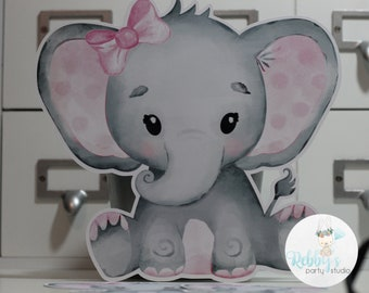 Baby Girl Elephant Cut Outs