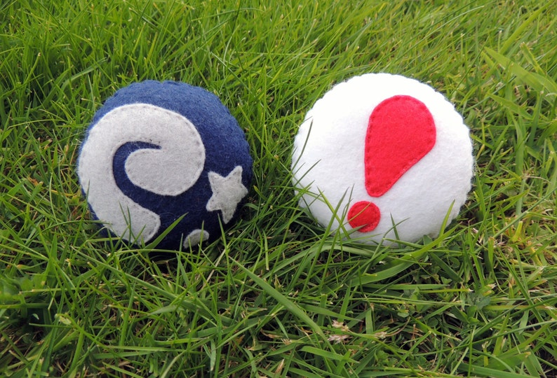Felt Animal Crossing Fossil and Pitfall Seed Plush Ornaments image 0