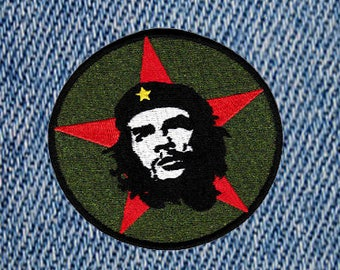 Vintage Style Che Guevara Revolution Embroidered Patch Badge (9cm)