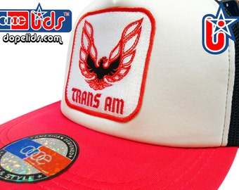e66d581b09d smART-patches Vintage Trans Am Mesh Trucker Cap Hat Bandit 70 s 80 s  Firebird