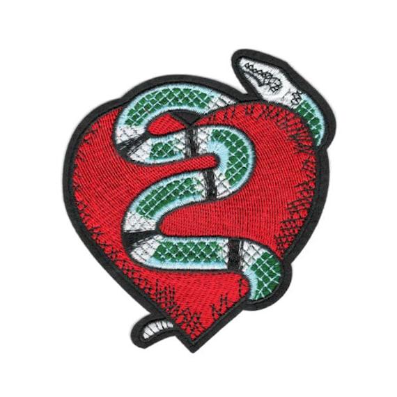 Aufnäher Snake 4 x 10 cm