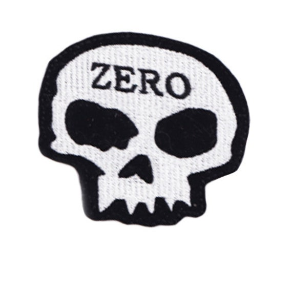 coral sequins skull patch
