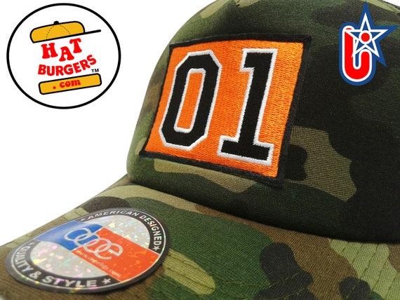 smARTpatches Truckers Dukes of Hazzard 01 General Lee Curved Bill Camo  Trucker Hat Cap by lidstars headwear b7206a57c86