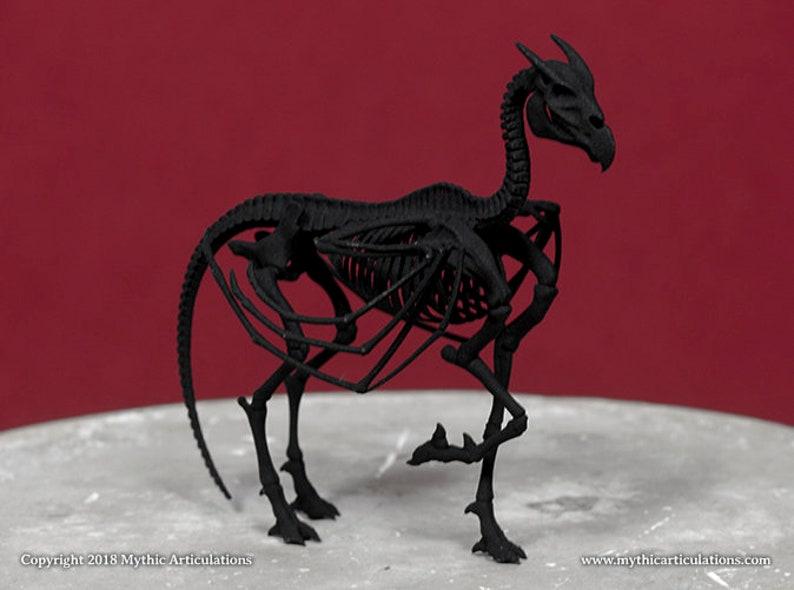 Bat Horse Skeleton 3D Print image 0