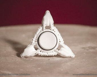 Wyvern Skull Fidget Spinner 3D Print