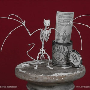 Easter Bunny Skeleton 3D Print Taxidermy Sculpture