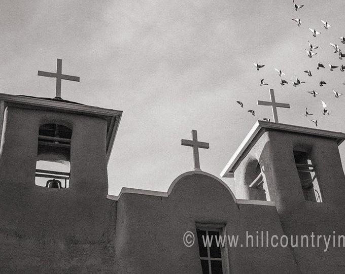 San Francisco de Asis Church, Ranchos de Taos NM Signed Print