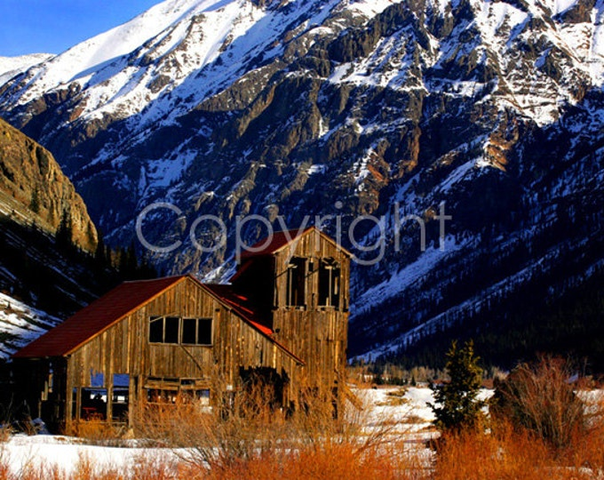 Colorado Mine, San Juan Range, Rocky Mountains Fine Art Print