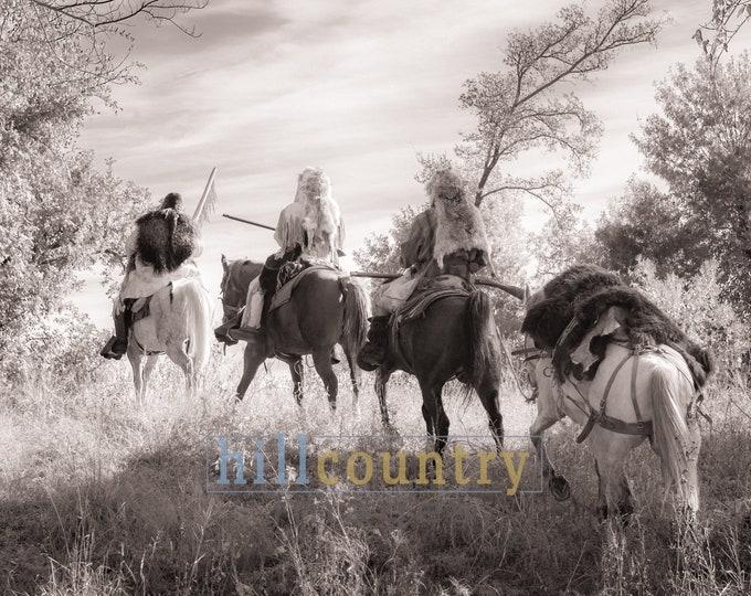 Mountain Men On The Trail