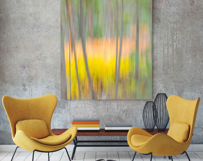 Featured listing image: Large Aspens Abstract