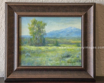 Taos New Mexico during Summer, Small Original Oil