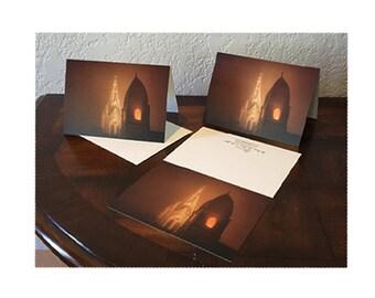 St Mary's Church 5x7 Christmas Cards, Fredericksburg TX