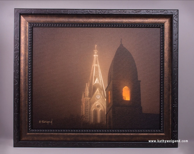 St Marys Church in Fredericksburg Texas, Limited Edition and Open Edition Fine Art Prints