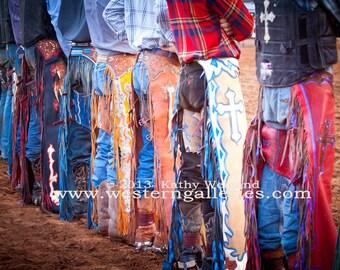 Mini Art Sale - Rodeo Cowboy Chaps Signed Print