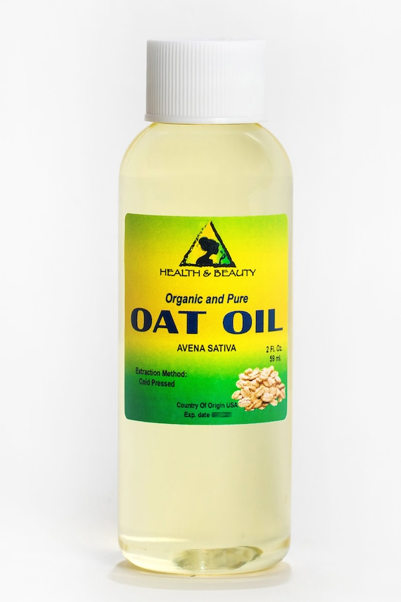 2 Oz Oat Oil Organic Carrier Cold Pressed Natural 100 Pure Etsy