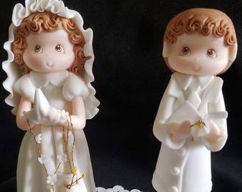 First Communion Decorations, Baptism Cake Topper, First Communion Cake Topper, Baptism Decoration, Boy Cake Topper, First Communion, Bautizo