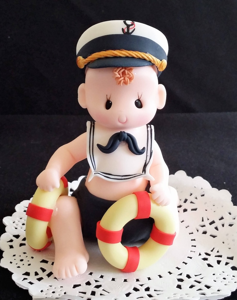 Nautical Baby Shower Baby Shower Cake Topper Baby Shower Etsy