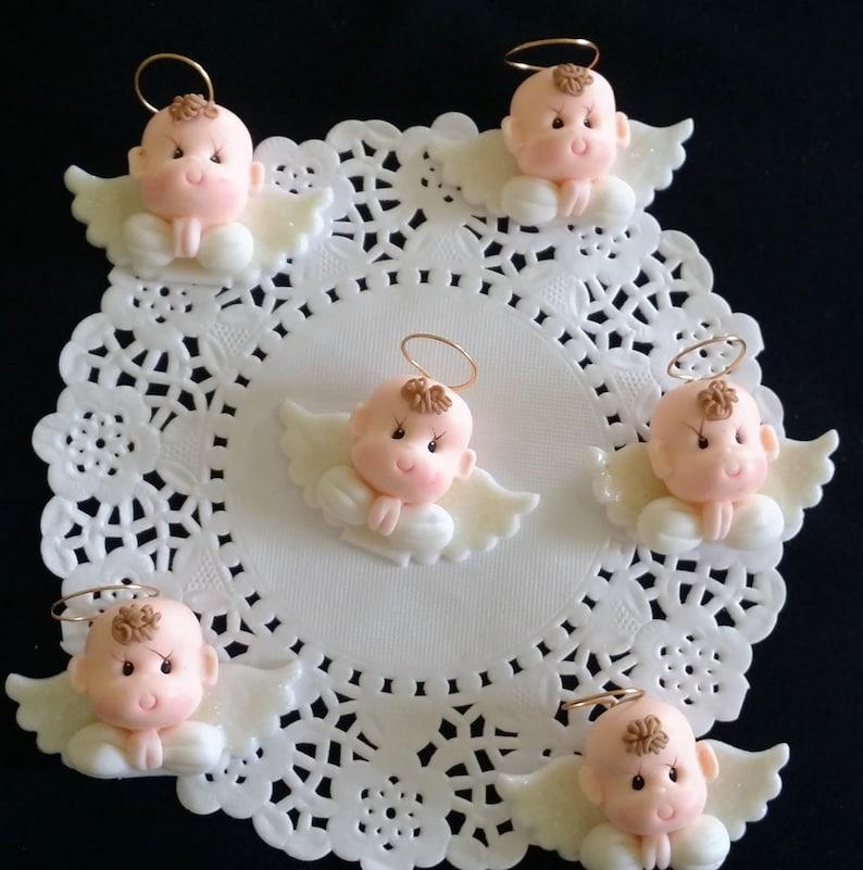 Spiksplinternieuw Doop taart decoratie doop cake topper baby doop gunst Angel | Etsy LA-72