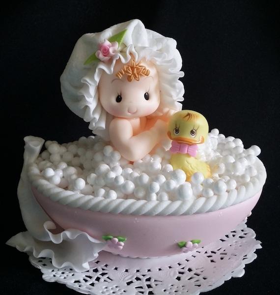 Baby Shower Kuchen Topper Kuchendekoration Madchen Baby Etsy