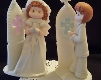 Baptism Cake Topper, Baptism Decoration, Boy Baptism Centerpieces, Baptism Favors, Baptism Decorations, First Communion Cake Topper