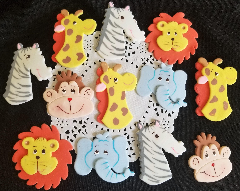 Fairytale Frosting: Baby Culver's Jungle Safari |Safari Animal Baby Shower Favors