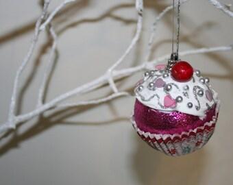 Handmade Cupcake Baubles