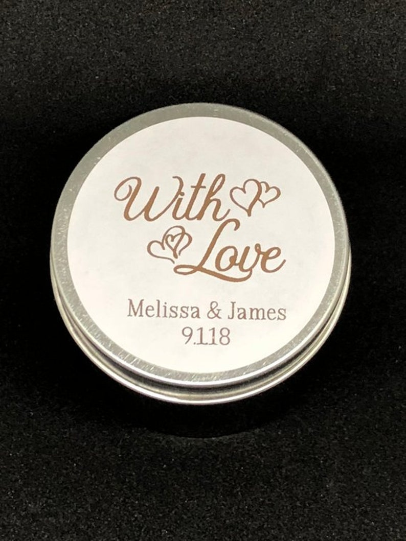 Large 3.5 Round Gold Foil Labels Stickers Foil Stickers With Love Real Foil Wedding Labels Real Foil Labels Rose Gold Silver Copper
