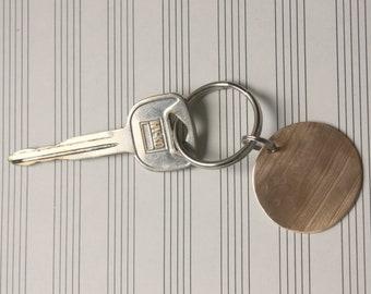 Cymbal Bronze Key Chain