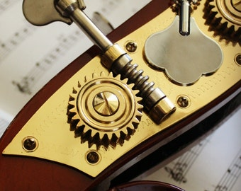 Bass Tuning Key Pendant