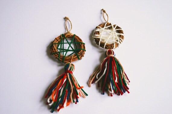 Mini Dreamcatcher Ornament