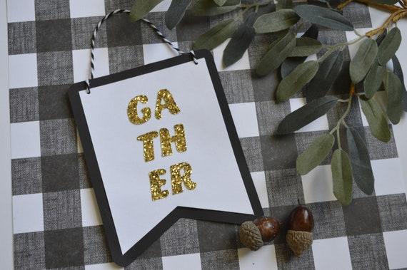 GATHER Mini Banner