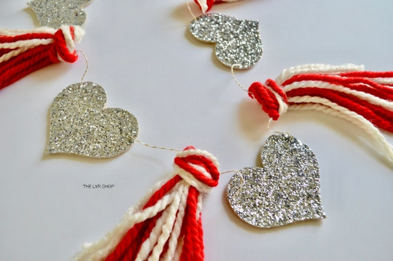 Heart And Tassel Garland, Wedding Garland