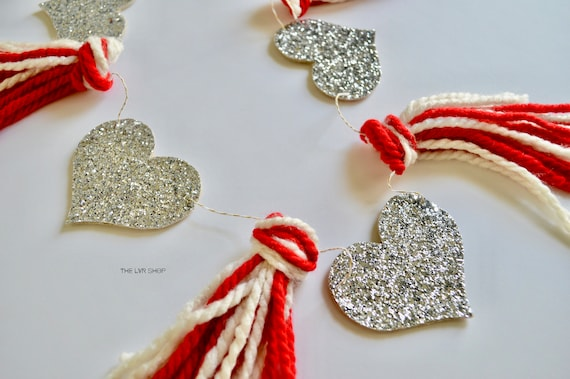 Heart And Tassel Garland, Wedding Garland