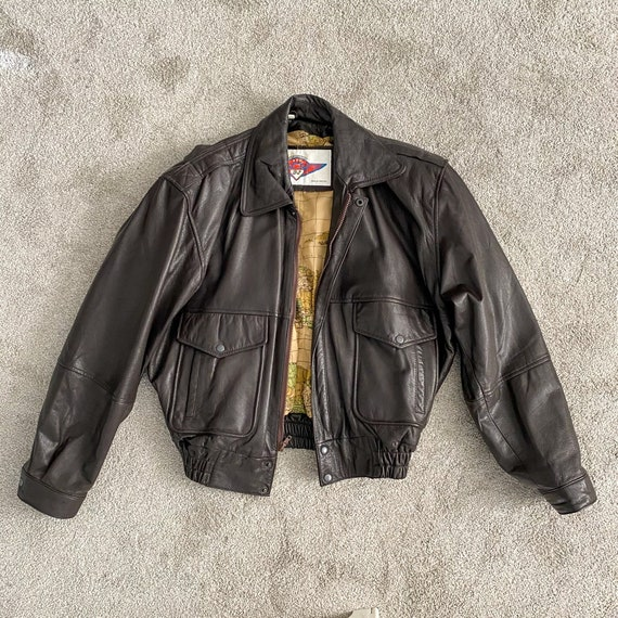 Official Vintage B 2 Fortress Bomber Jacket with M