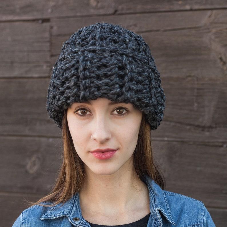 c115a9e36d2b4 Cuffed Beanie Knit Wool Hat Slouchy Hat THE CLASSIC CUFF